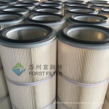 FORST Power Plant Filtro de aire del cilindro de poliéster