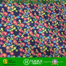 Small Flower Print Fabric Young Lady Short Dress Fabric