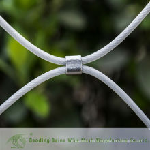 2015 alibaba china manufacture plastic coated furruled mesh cable wire mesh