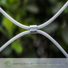 2015 alibaba manufatura de porcelana revestido de plástico furruled malha malha de arame