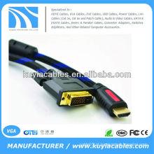 Cabo de vídeo DVI 24 + 1 para HDMI DVI