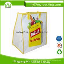 Tiefdruck-OPP-Laminierungs-Einkaufs-Supermarkt-Werbungs-Tasche