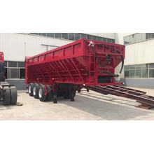 Live Bottom Trailer With Conveyor For-Gravel Sand Grain