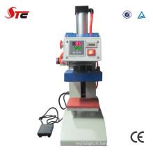 Machine pneumatique de presse de la chaleur de logo pour le logo