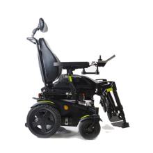 Cadeira de rodas elétrica portátil leve e dobrável de alumínio