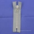 Long Chain Metal Silver Teeth Zipper for Garments 7040