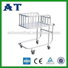 Baby bed stainless steel nursery cribs