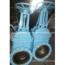 Flange End Gate Valve with Carbon Steel RF