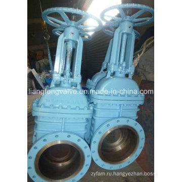 Фланцевый запорный клапан с углеродистой сталью