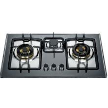 Tres hornilla incorporada en la cocina (SZ-LX-208)