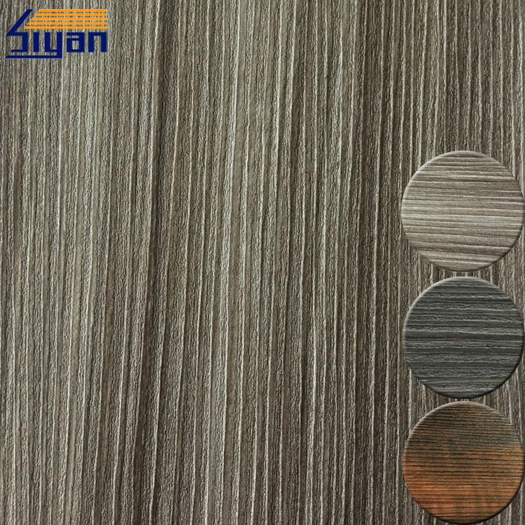 Pvc wood film for furniture decoration