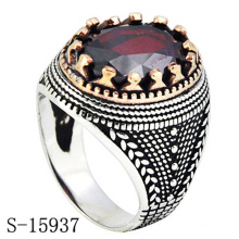 Factory Wholesale 925 Sterling Silver Ring with Zirconia