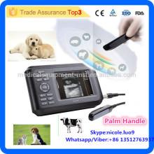 MSLVU04i Equipo ultrasónico veterinario más barato / ultrasonido veterinario usado para el gato, perro, caballo, cabra, vaca