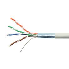 Grau 24awg FTP abgeschirmtes festes Kupfer cat5e Kabel