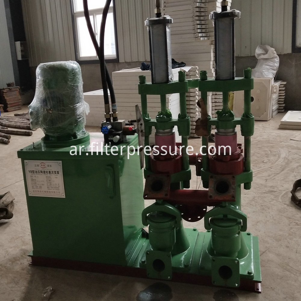 Filter Press Feeding Pump