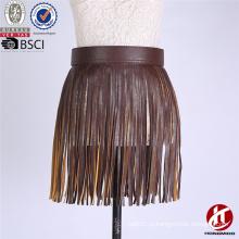 2016 Цена по прейскуранту завода-изготовителя западного пояса пояса PU юбки пояса PU для женщин