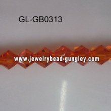Crystal cone beads decoration