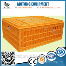 Superimposed non-deformation high quality plastic transport chicken cage