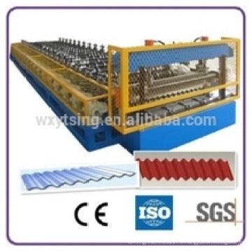YTSING-YD-4835 a passé l'ISO et la qualité du CE la tôle ondulée fait la machine / le rouleau de tuile de toit formant la machine