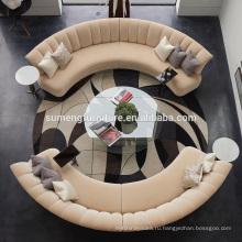 SUMENG лучший горячие продаем круглый диван набор гостиная мебель S617
