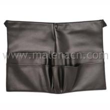 Bolsa de cintura negro, cinturón para el cepillo de maquillaje