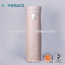 PPS filtro de tela no tejida bolsa de filtro de polvo