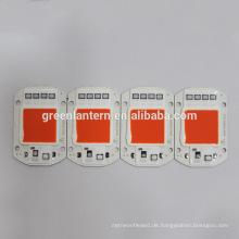 AC 220 V Driveless 620-660nm ROTES licht 20 Watt 30 Watt 50 Watt Cob Led chip Für COB Wachsen Licht