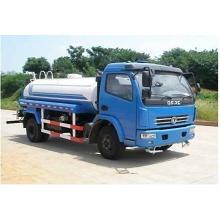 Dongfeng 7T 4x2 black sintex bulk water tank