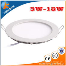 50000hours indoor led panel light long time span RA80 PF0.95 china manufaturer