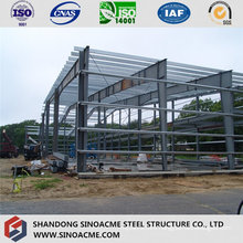 Light Steel Frame for Aircraft Hangar