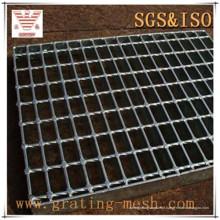 Grade de aço preta não tratada para piso de escada