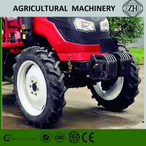 High Efficiency 55HP 4 Wheel Drive Compact Farm Tractors