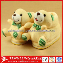 Мягкие плюшевые медведь крытый зимний туфель туфли