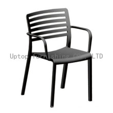 Outdoor Wholesale Polipropylene Arm Dining Chair (sp-uc025)