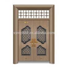 steel front door design double main door steel skin