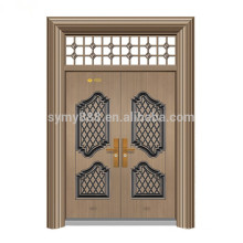 конструкция стальной входной двери, двойная входная дверь стальная кожа