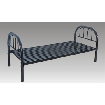 School Furniture Metal Single Bed with Ladder