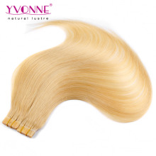 Wholesale 100% Human Hair Skin Weft