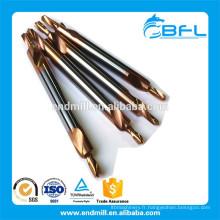 Forets à centrer en carbure de tungstène solide BFL