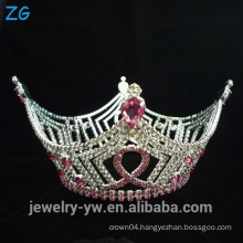 Full Round Pageant Crowns Metal Crowns