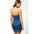 Лето Сладкий Свободного Покроя Стиль Платья Холтер Восхитительный Дизайн Женщины Платье