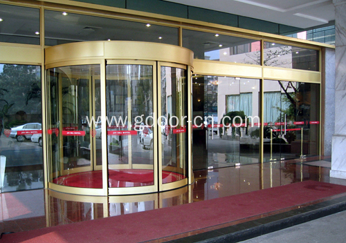 Automatic Curved Sliding Doors with Outstanding Performance