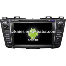 Android system dual core car central multimedia for Mazda 5 with GPS/Bluetooth/TV/3G/WIFI