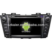 Система Android двухъядерный автомобиль Центральный мультимедиа для Mazda 5 с GPS/Bluetooth/телевизор/3G/беспроводной