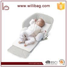 Forme la bolsa de pañalera de nylon para el saco de dormir del bebé de la momia al por mayor
