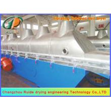 Secador de lecho fluido de material cristalino