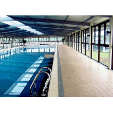 Telhado pré-fabricado da piscina do quadro do espaço