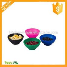 Bol de soupe en silicone multifonction souple et flexible multi-fonctions