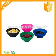 Fácil de Limpar Eco-Friendly Mini Flexível Silicone Pinch Bowl