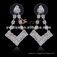 Модные свадебные ювелирные украшения 2011 года с ясными стразами для невесты